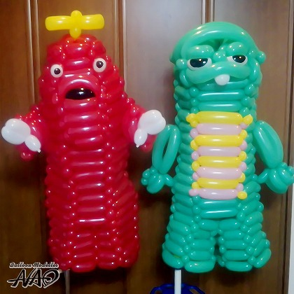 Gachapin and Mucc